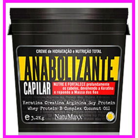 Anabolizante Capilar Natumaxx 3.2kg