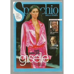 Revista Specchio Gisele Bundchen Frete Grátis!!!!