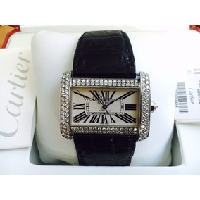 Cartier Tank Divan Automatic 3.5 Quilates Diamantes Completo