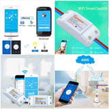 Sonoff Interruptor Wifi Domotica Promo Hay Stock