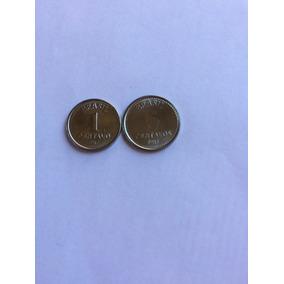 1 E 5 Centavos 1987 Escassas