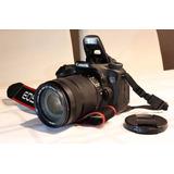 Canon 70d Con Lente 18-135 Mm