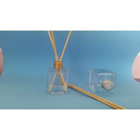 200 Frascos Vidro-cubo Para Aromatizador 30ml + 1 Litro Arom