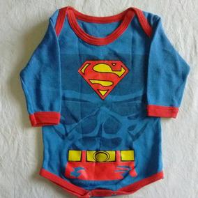 Body Bebe Superman Con Capa Excelente Terminacion - Ropa y ... b90146e70dd