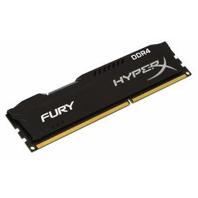 Memória Kingston 8gb Ddr4 2400mhz Hyperx Fury Gamer