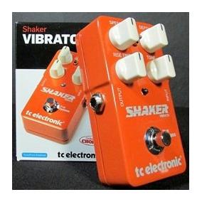 Pedal De Guitarra Tc Electronic Shaker Vibrato *