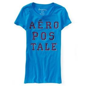 Blusa Aeropostale Estilo 6071 Azul
