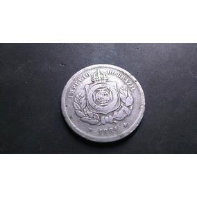 Moeda 100 Réis, Império Do Brazil - 1881!