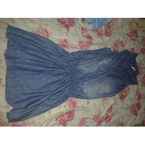 Vestido Moisaco, Médio,tamanho M,azul.