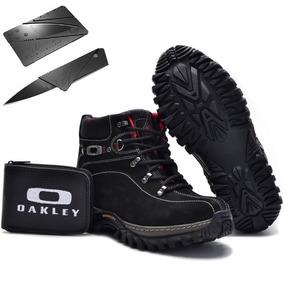 Tênis Oakley Original Lançamento Bota Masculino Promoção Kit 51c78d0ce8