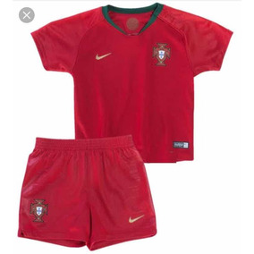 Conjunto Infantil Portugal Cr7 - Personalizada aaff767959af1