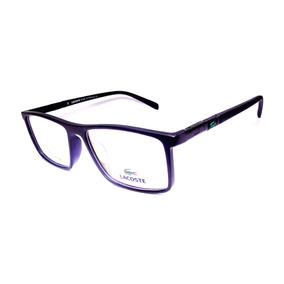 b70e52ce0ac61 Armação Para Óculos Lacoste De Grau - Óculos no Mercado Livre Brasil