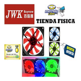 Abanicos Fan Cooler Led 120 Mm Para Case. Jwk Vision