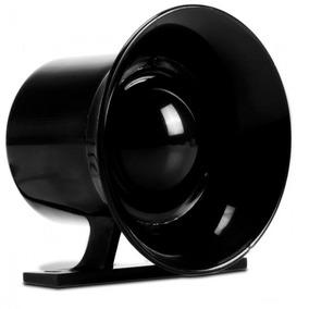 Sirene Preta Ecp Compacta Alarme Alta Potência 120db 12v