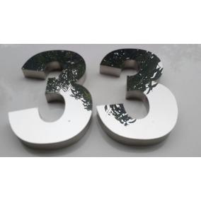 1243ad5f0 Números De 30cm De Altura Em Aço Inox Aisi 430