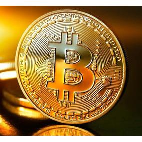 Bitcoin Btc Moneda Física Conmemorativa.