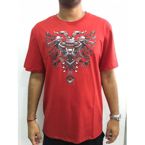 Camiseta Cavalera Vermelha Mod. Águia - Camisetas Manga Curta para ... 381fe46ab05