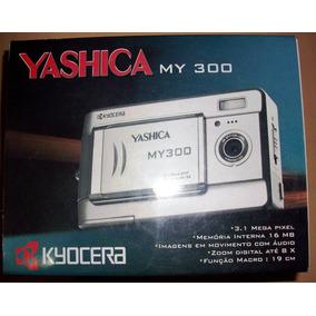 Câmera Digital Yashica 3.1mp