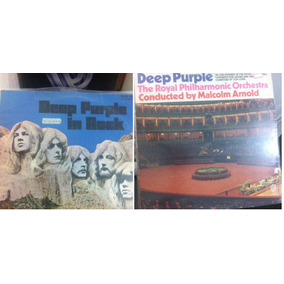 Lp Deep Purple In Rock E Concert G.orchestr Importados