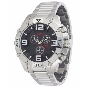 Relógio E.w.c Emt14021-2 Com 2 Anos De Garantia