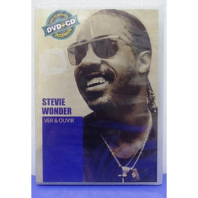 Dvd + Cd Stevie Wonder Ver & Ouvir - Novo E Lacrado