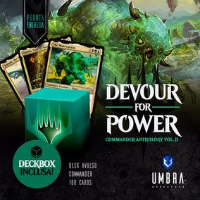 Deck Devour For Power Do Commander Anthology 2 - Em Inglês