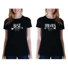 Camiseta Playera Mujer Mejores Amigas Best Friends dd7881a1f9cd6