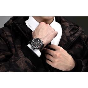 Relógio Masculino Aço Inox Naviforce 9093 Original+caixa.