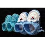 Sapatinho De Crochê Feito À Mão P/ Bebê Rn - Kit C/ 2 Pares
