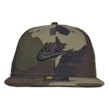 Boné Nike Sb Icon Pro Aba Reta Snapback Verde 47acebca4b9