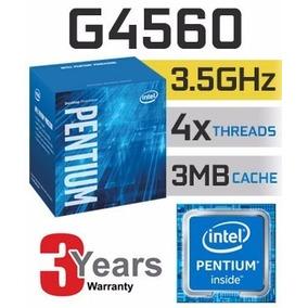 Processador Intel G4560 Pentium 3,5ghz 3mb Cache Lga 1151