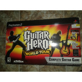 Guitar Hero Play Stantion 2 Con Su Cd Orginal
