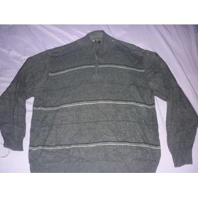 c2f0782fdb751 Precio. Publicidad. E Sweater Oscar De La Renta Gris Media Polera Art 27841