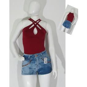 Shortz Jeans Femininos Atacado 10 Pecas