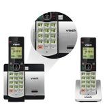 Teléfono Inalámbrico Vtech Doble Con Id De Llamada Altavoz