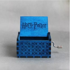 Caixa De Musica Harry Potter, Madeira, Manivela, Hpaz.