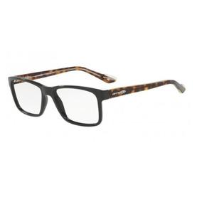 Armação Oculos Grau Arnette An7112l 2403 Preto Brilho Marrom a8e7d4844d