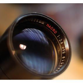 Auto Cpc Phase 2 135mm 2.8 Macro Con Montura Nikon F