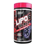 Lipo 6 Black Em Pó 130g Nutrex Termo Diurético Uva