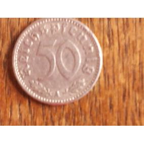 50 Reichspfennig 1940a - C/ Suástica - Alemanha