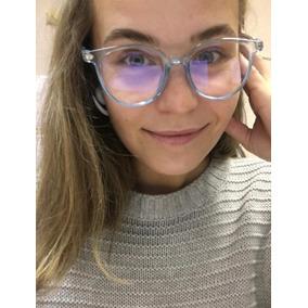 0f28c8c414aba Oculos De Grau Feminino - Óculos Azul celeste no Mercado Livre Brasil