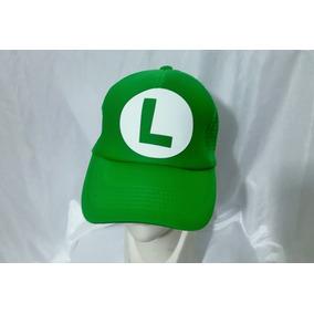 Gorra Unisex Mario Bros Luiggi Video Juegos Nintendo