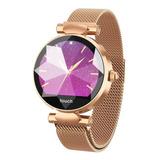 Reloj Inteligente Smartwatch Metálico Para Mujer