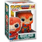 Funko Pop Beast Man 539 Orig Los Amos Del Universo Scarlet