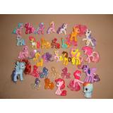 Lote 33 Ponys Mi Pequeño Pony Mini Figuras Funko