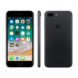 iPhone 7 Plus Apple 256gb Preto Matte Tela 5.5 - Câm. 12mp