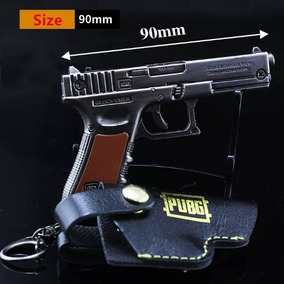 Chaveiro Miniatura Arma Metal Réplica Glock Gmbh 1021