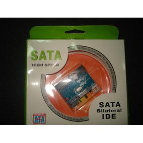 Tarjeta Convertidor Bi-direccional Ide/sata - Sata/ide Hdd