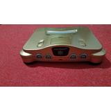 Nintendo 64 Pintada Dorada Gold