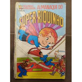 Gibi Almanaque Do Super-riquinho Nº 2 Editora Rge 1977